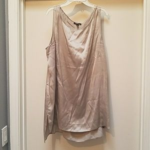 Eileen Fisher Champaign sleeveless top